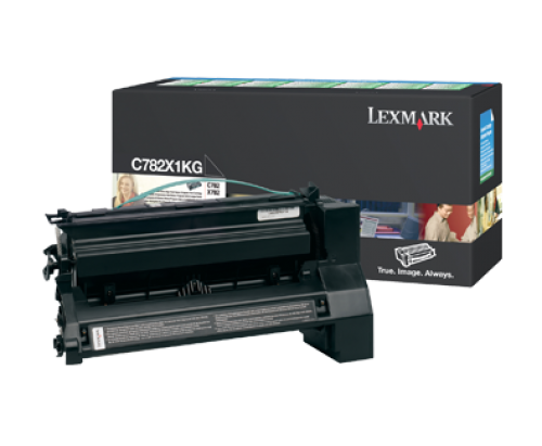 Lexmark C782/X782 15K Black Return Cartridge
