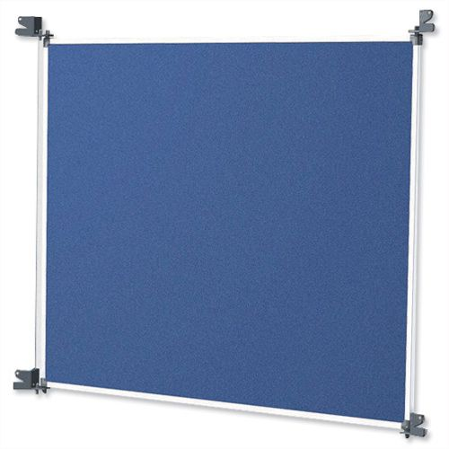 Image for Nobo Modular Large Felt Panel Blue and Grey