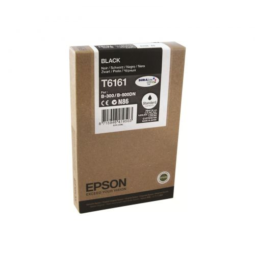 Epson C13T616100 T6161 Black Ink 76ml