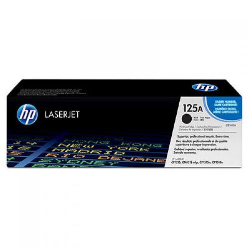 HP CB540A 125A Black Toner 2.2K