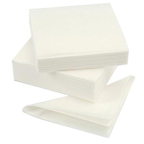Value Napkins 1Ply 32x32cm White (Pack 500)