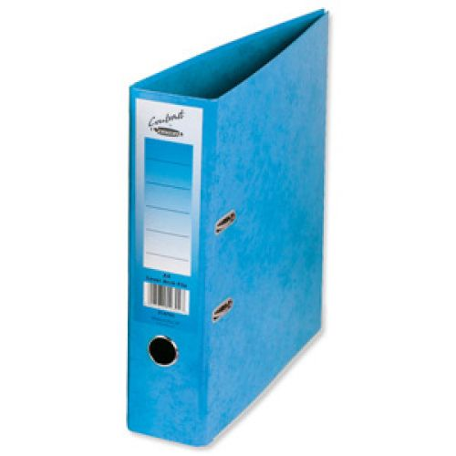 Concord Contrast Lever Arch File A4 Sky Blue PK10