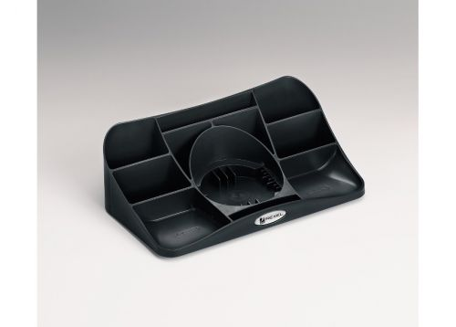 Rexel Agenda2 Desk Tidy Charcoal 2101028