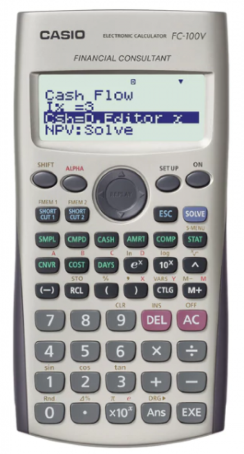 Casio Financial Calculator 12-digit