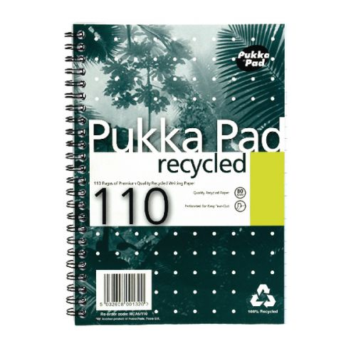 Pukka A5 Recycled Pad PK3