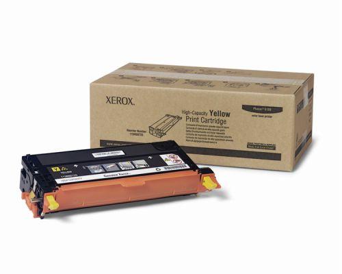Xerox 6180 Yellow High Capacity Toner