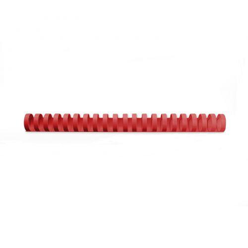 GBC Binding Combs 21 Ring A4 10mm Red 4028215 (PK100)