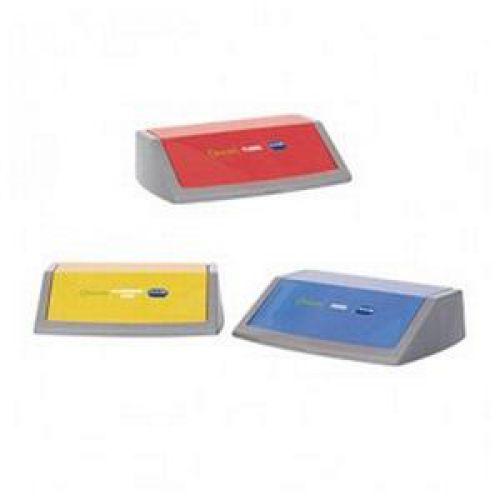 Addis Recycling Bin Kit Lid Metallic Pk3