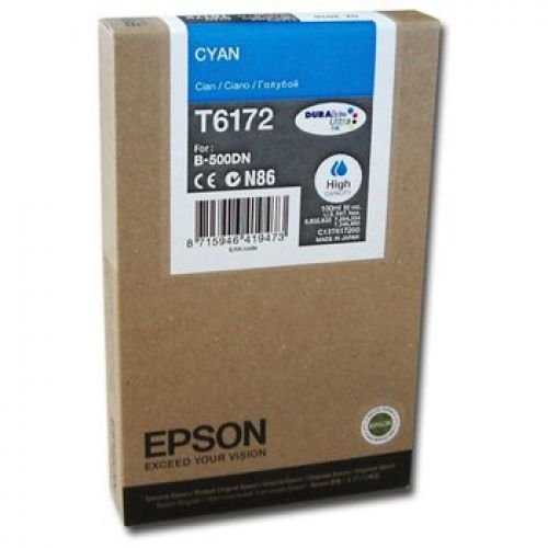 Epson C13T617200 T6172 Cyan Ink 100ml