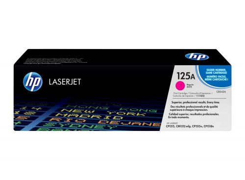 HP CB543A 125A Magenta Print 1.4K