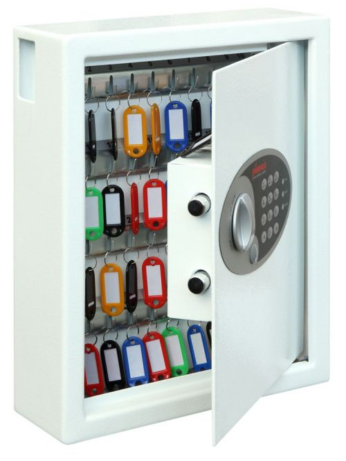 Phoenix Cygnus Key Deposit Safe 48 Hook Electronic Lock