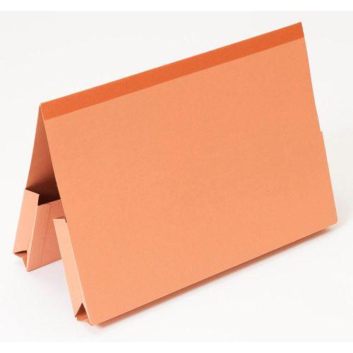 Guildhall Double Pocket Legal Wallets Orange PK25