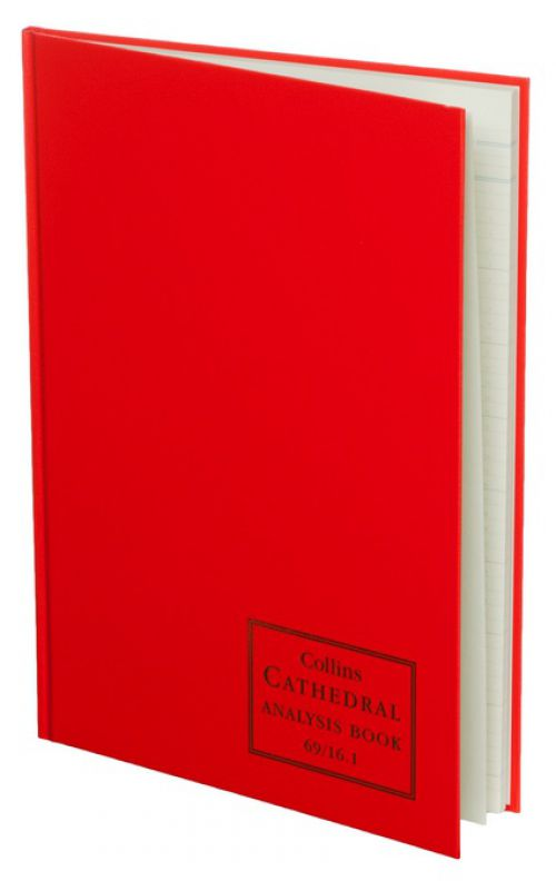 Collins Cathedral Analysis Book 16 Cash Column 96 Pg 69/161