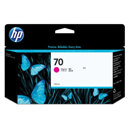 HP C9453A 70 Magenta Ink 130ml