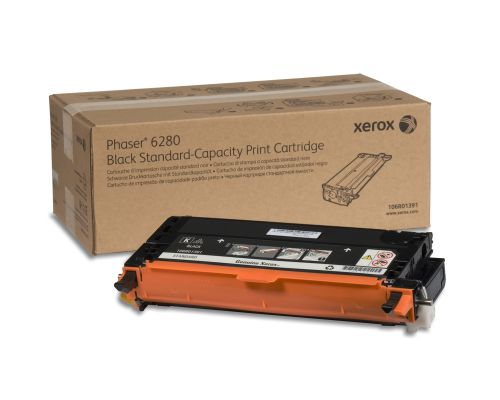 Xerox Phaser 6280 Black Toner 106R01391