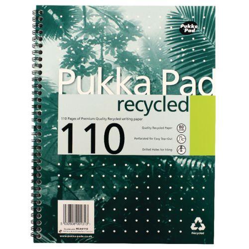 Pukka A4 Recycled Pad PK3