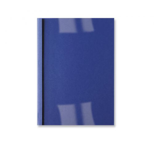 GBC A4 Thermal Binding Covers 4mm Royal Blue PK100