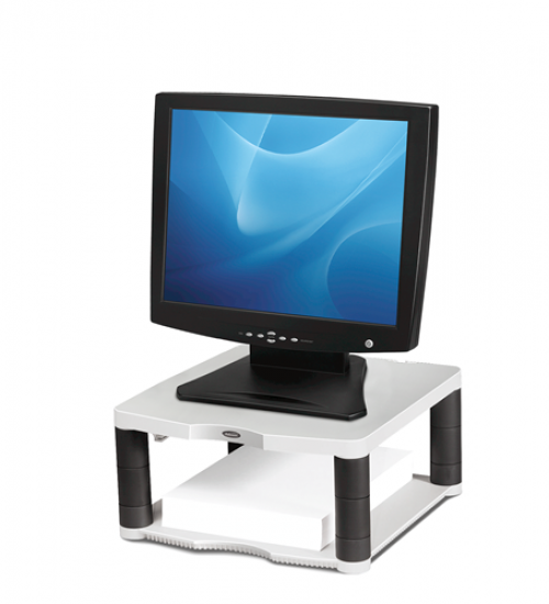 Fellowes Premium Monitor Riser Platinum 91717