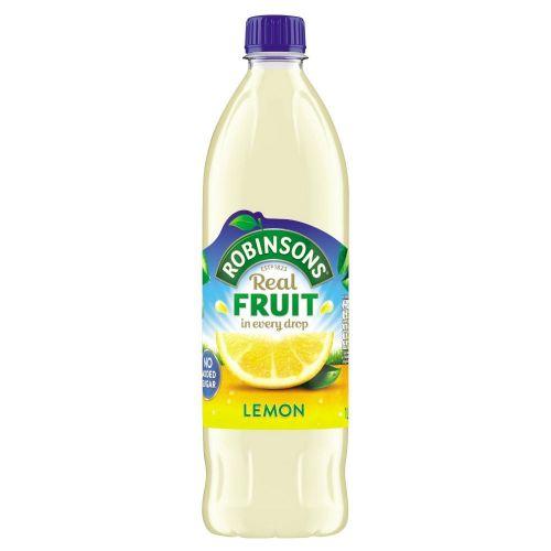 Robinsons NAS Lemon 1 Litre (Pack 12)