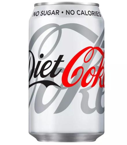 Diet Coca Cola 330ml Cans (Pack 24)