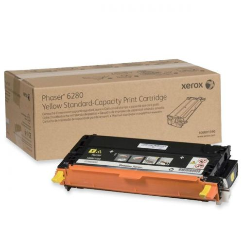Xerox Phaser 6280 Yellow Toner 106R01390