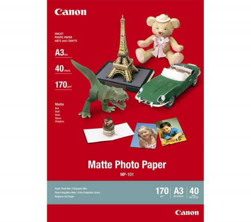 Canon A3 Matte Photo MP-101A3 Paper