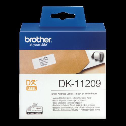 Brother DK11209 Small Address Label Roll 62mmx29mm 800
