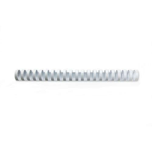 GBC CombBind Binding Combs Plastic 21 Ring A4 25mm WH PK50