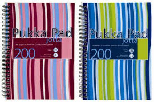 Pukka Pad A5 Polyprop Jotta 200 Page PK3
