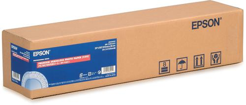 Epson Premium (61.0cm x 30.5m) Semi Gloss Photo Paper on a Roll 260gsm (White) C13S041641