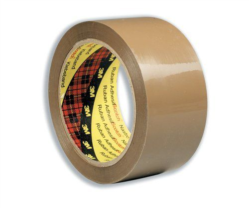 Scotch Low Noise Buff Tape 48mmx66m PK6