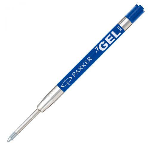 Parker Quink Gel Ball Pen refill Medium Blue Blister PK1