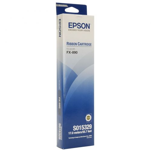Epson C13S015329 Black Ribbon 7.5Million Characters
