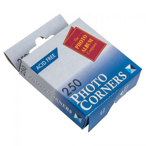 Image for Photo Album Corners White Pk250 PC250