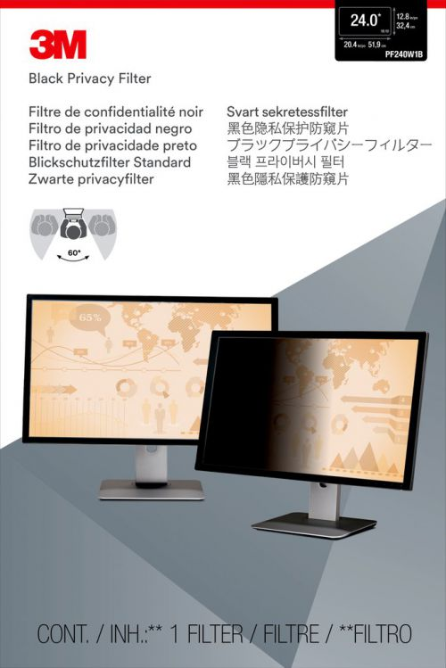 3M PF24.0W Desktop Privacy Filter