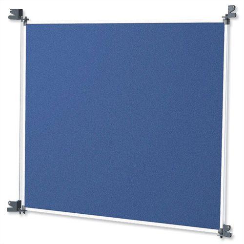 Nobo New Modular Felt Display Panel A1 Blue and Grey
