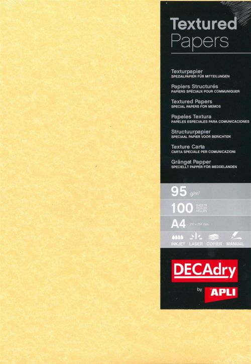 Decadry A4 Ppr Gld 95gsm Pk 100