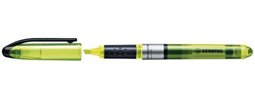 Stabilo Navigator Highlighter Soft-grip Slimline YW PK10