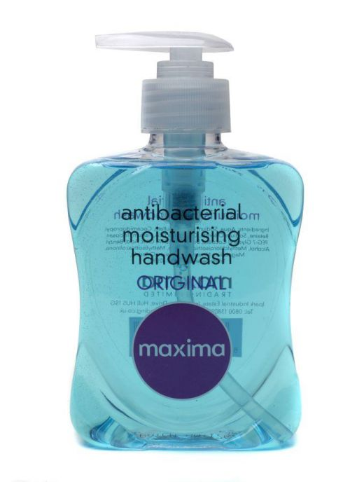 Maxima Hand Soap Antibacterial 250ml Flip Top