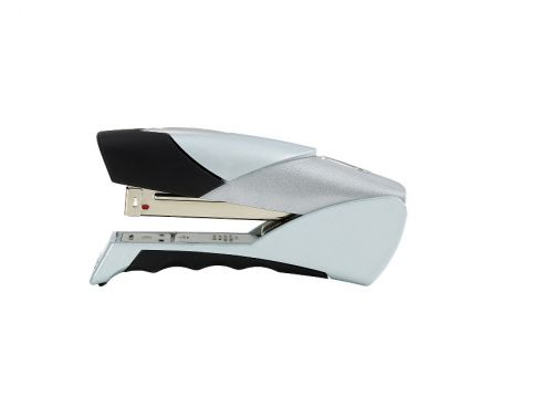 Rexel Gazelle Stapler Half Strip Throat 50mm Silver and Black Ref 2100790