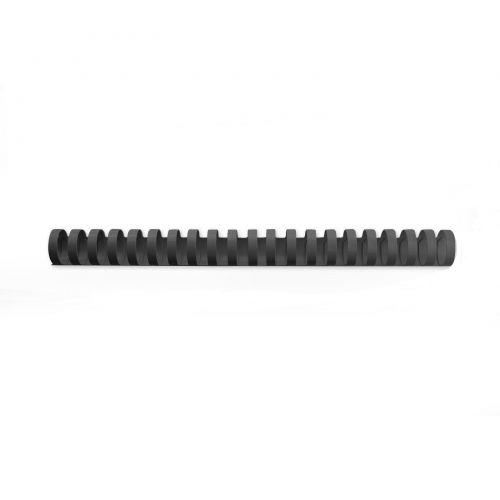 GBC CombBind Binding Combs Plastic 21 Ring A4 25mm BK PK50