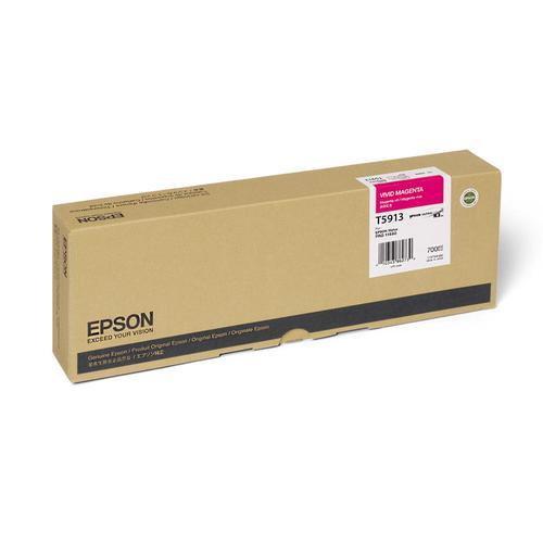 Epson T5913 Vivid Magenta Ink Cartridge for Stylus Pro 11880 C13T591300