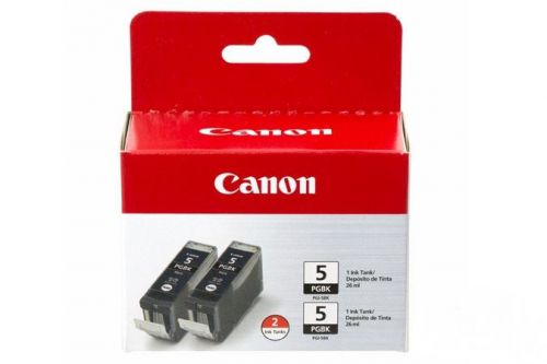 Canon 0628B030 PGI5 Black Ink 26ml Twinpack