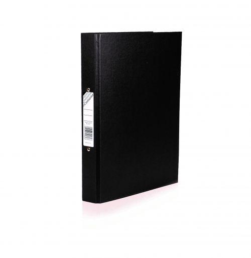 Centurion Ring Binder Paper-on-Board A4 Black PK10