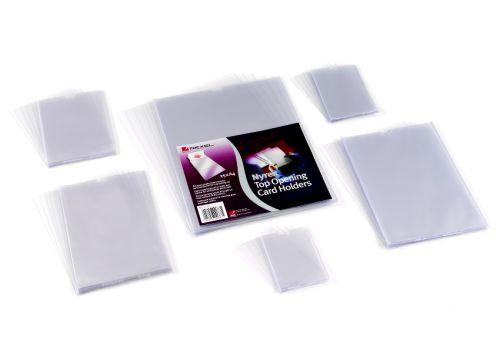 Rexel Card Holder Nyrex Open on Short Edge A5 Ref 12060 [Pack 25]