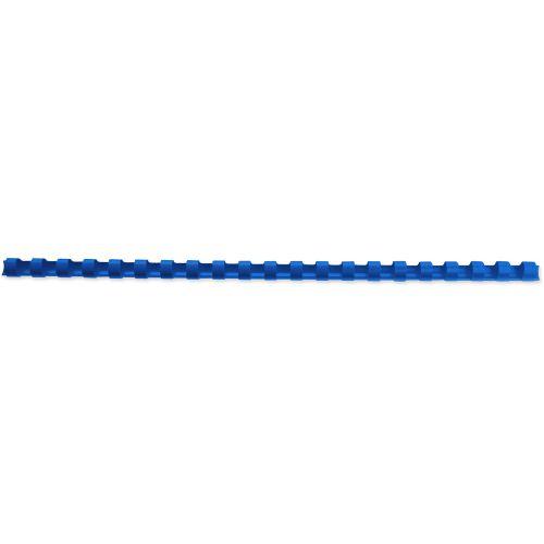 GBC Binding Combs 21 Ring A4 6mm Blue 4028233 (PK100)
