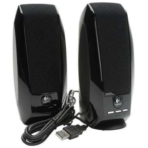 Logitech S150 Digital USB Speaker System Black 980-000029