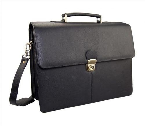 Monolith Leather Briefcase