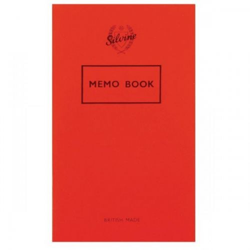 Silvine Memo Book 159X95MM 36 Leaf PK24