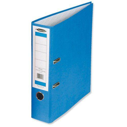 Concord Classic Lever Arch File A4 Blue PK10